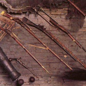 Cossack weapon, Zaporozhye, 1985