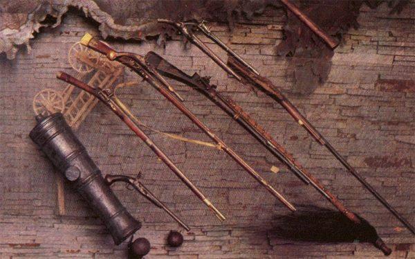 Казацкое оружие, Запорожье, 1985 год