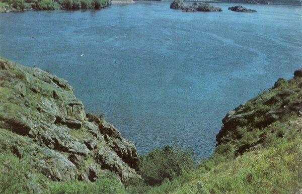 Сечевые ворота, остров Хортица, Запорожье, 1985 год