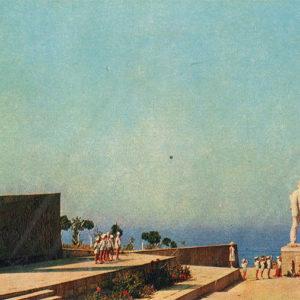 Monument kapiatnu Kalinin, Anapa, 1973