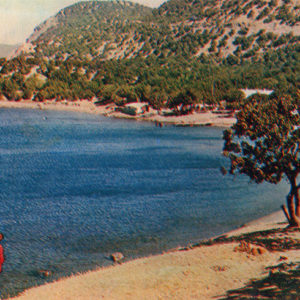 "View of the ""Big Utrish"", Anapa, 1973"