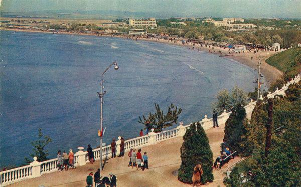 Набережная, Анапа, 1973 год