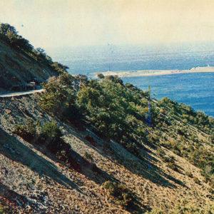 "The road to the ""Big Utrish"", Anapa, 1973"