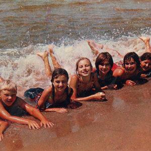 Sea baths, Anapa, 1973