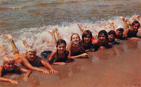 Морские ванны, Анапа, 1973 год