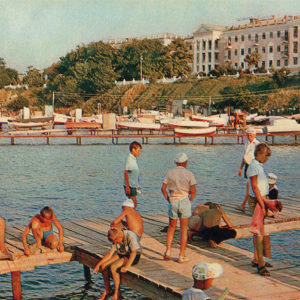 """Гостиница """"Анапа"""", Анапа, 1973 год"""