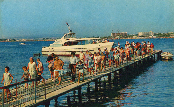 Berth pleasure boats, Anapa, 1973