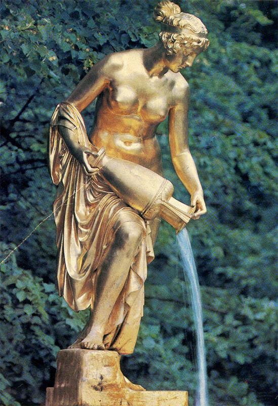 "Fountain ""monarch"", Peterhof, 1980"