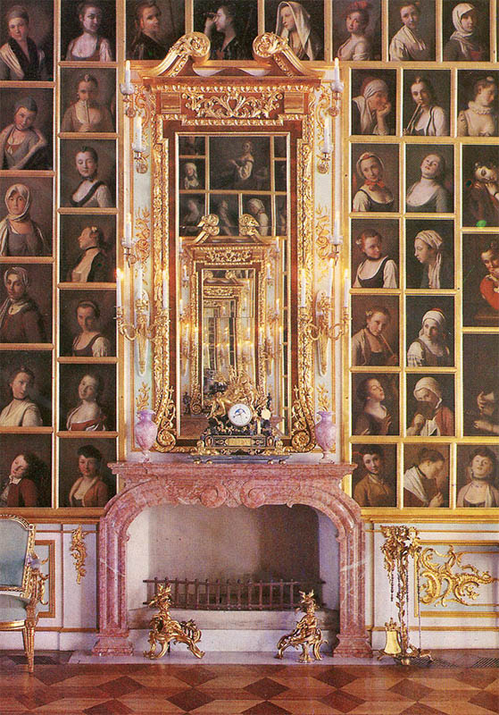 Portrait Hall of the Grand Palace, Peterhof, 1980