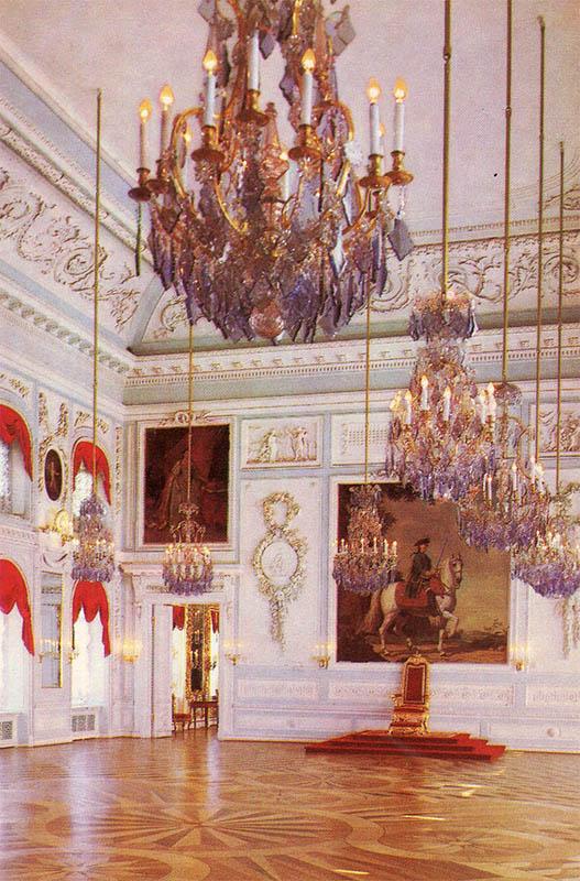 Throne Hall of the Grand Palace, Peterhof, 1980