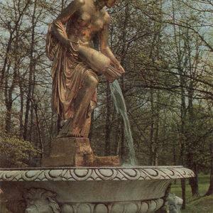 "Fountain ""monarch"", Peterhof, 1972"