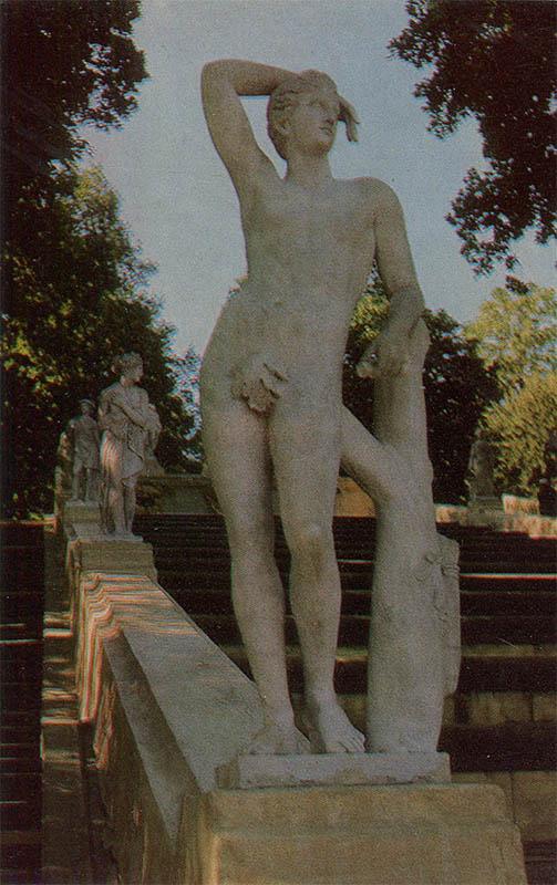 """Аполлон"", Петродворец, 1972 год"