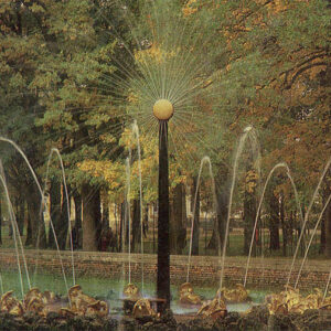 "Fountain ""The Sun"", Peterhof, 1983"