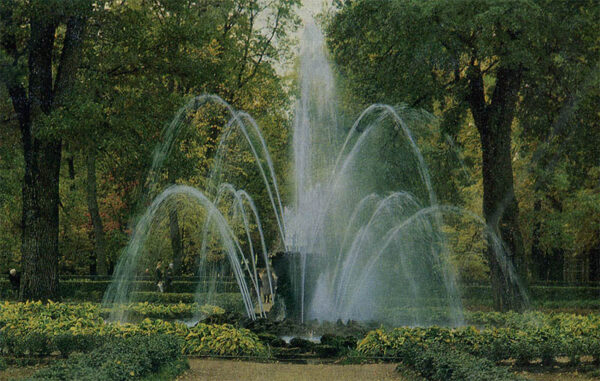 "Fountain ""Sheaf"", Peterhof, 1983"