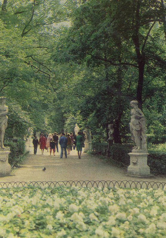 Летний сад ,Ленинград, 1984 год