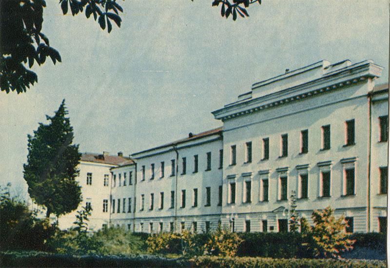 Инженерно-строительный институт, Полтава, 1963 год