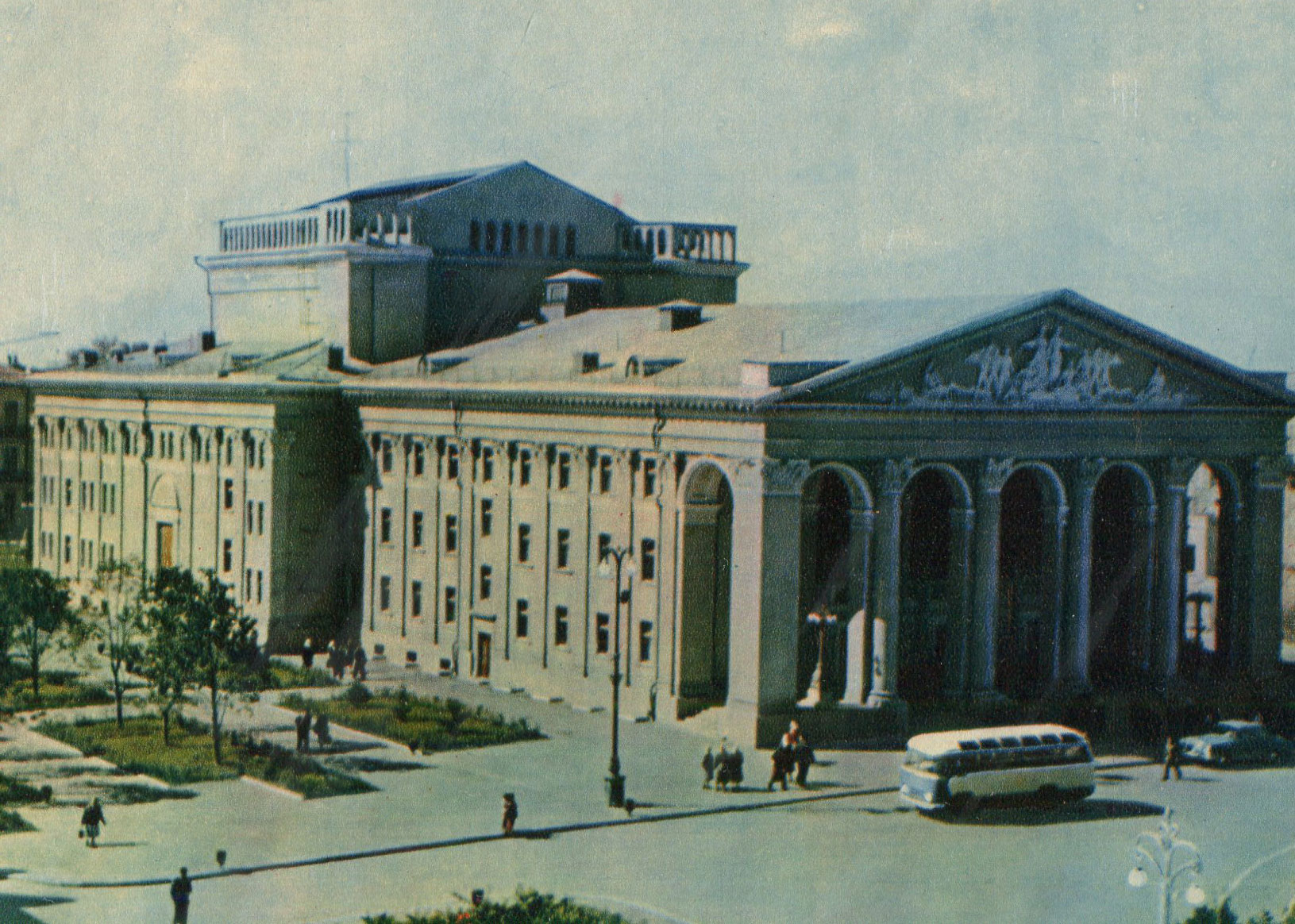 Musical and Dramatic Theater. Gogol, Poltava, 1963