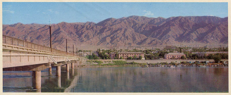 Hissar fortress near Dushanbe, the Tajikistan 1974