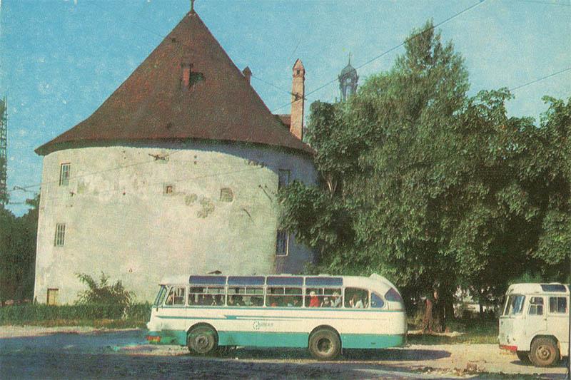 Пороховая башня, Львов, 1971 год