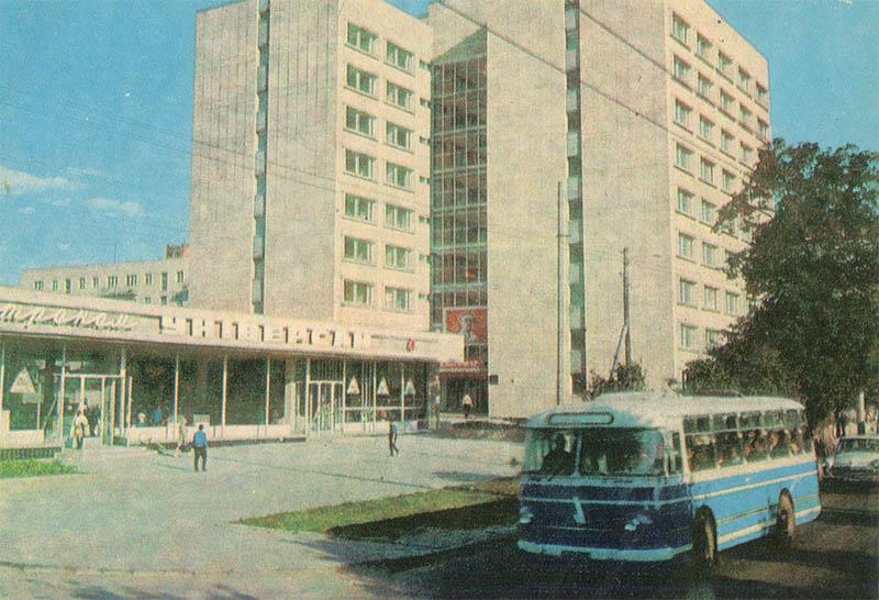 Улица Зеленая, Львов, 1971 год