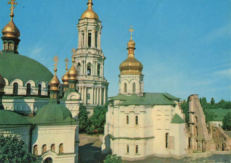 Kiev-Pechervskaya Lavra, Kiev, 1970