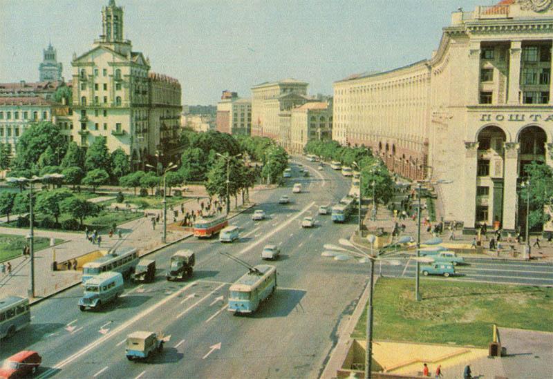 Крещатик, Киев, 1970 год
