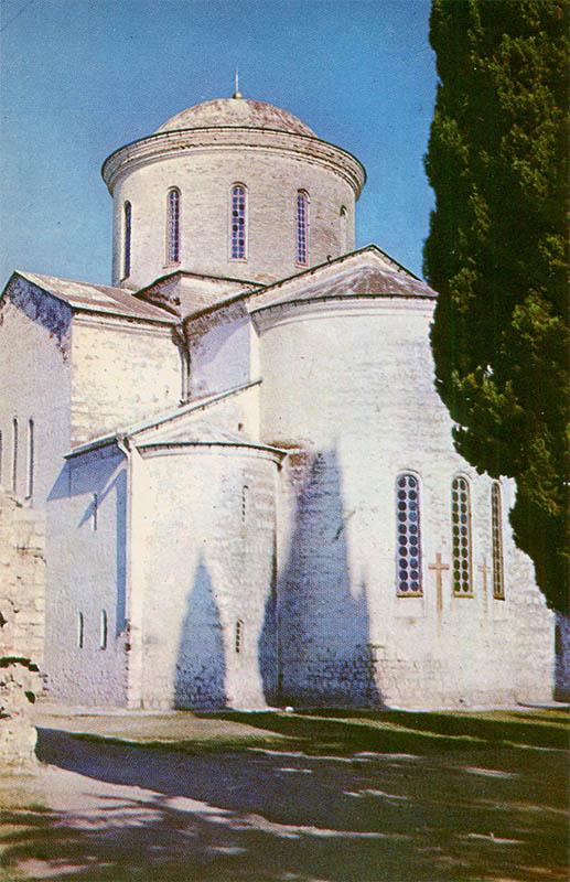 Пицундский храм XI век, Пицунда, 1970 год