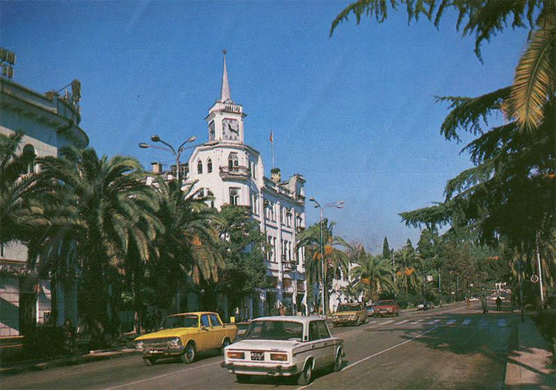 Улица Ленина, Сухуми, 1983 год