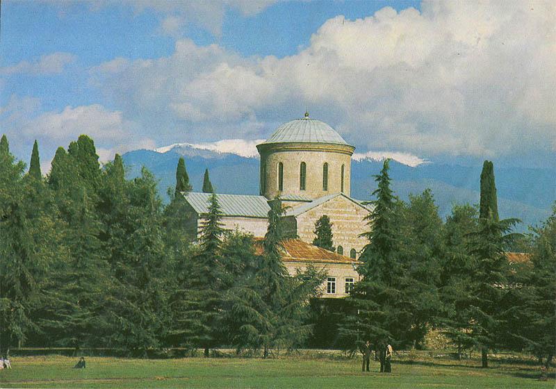 Пицундский храм, Пицунда, 1983 год