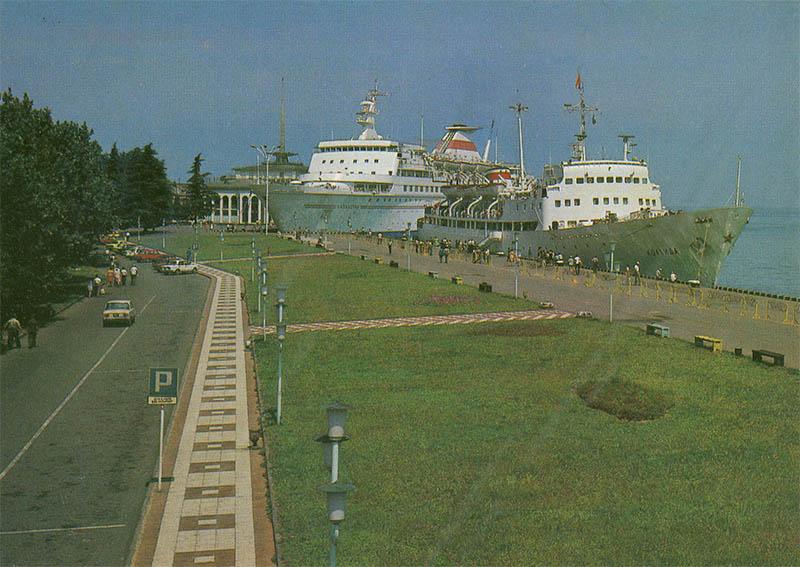 Порт, Батуми, 1983 год