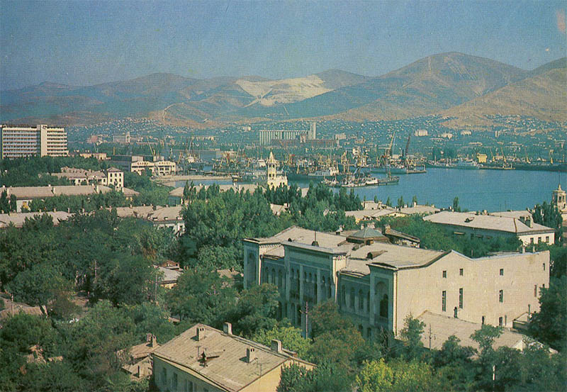 Panorama of the city, Novorossiysk, 1983
