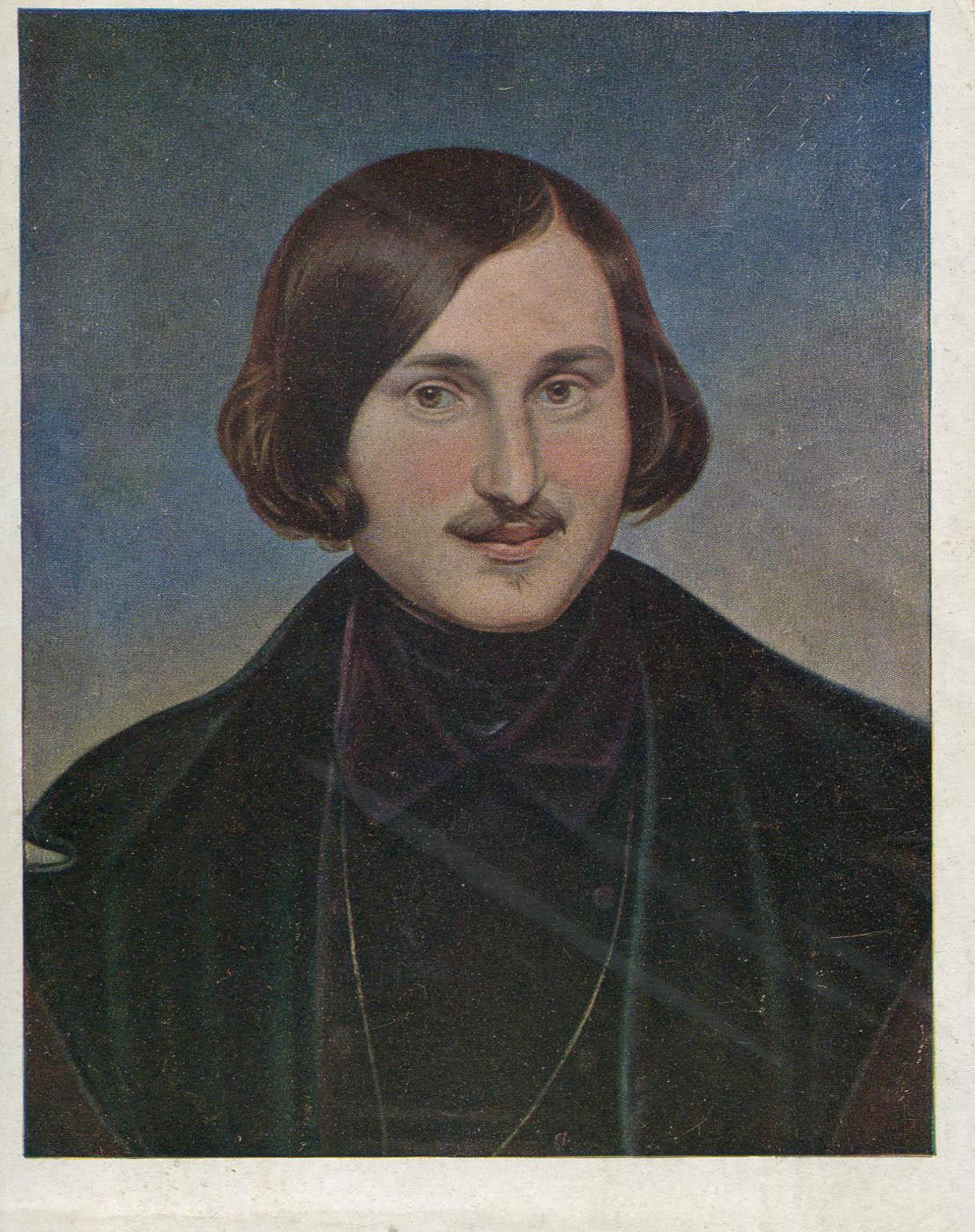 Портрет Н.В. Гоголя, 1934 год