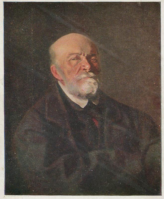 Портрет хирурга Н. И. Пирогова, Репин И.Е, 1933 год