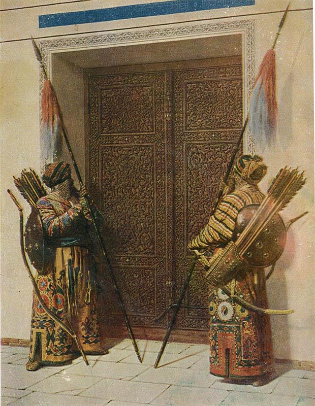 У дверей Тамерлана, Верещагин В.В, 1931 год