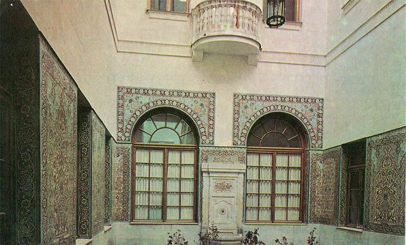 Arabian courtyard of the Livadia Palace, 1976