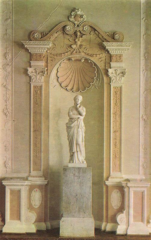 Скульптура Пенелопы Ливадийский дворец, 1976 год