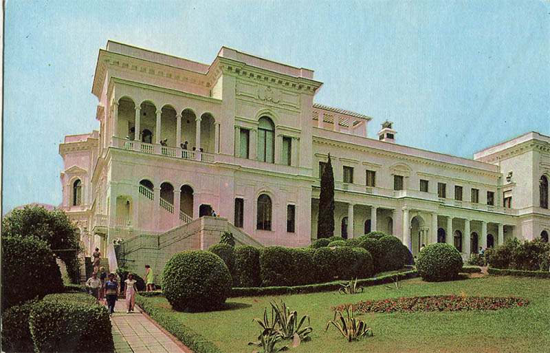 General view of the Livadia Palace, 1976