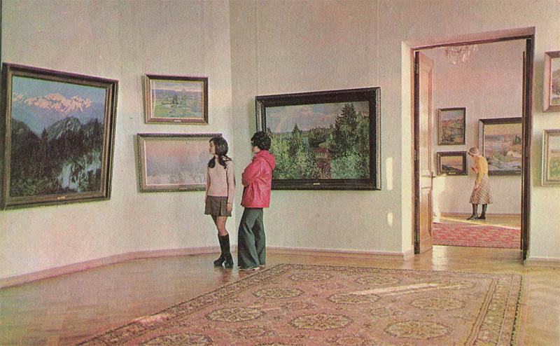 Size of the Livadia Palace, 1976