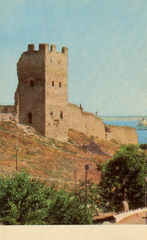 Генуэзская крепость, Феодосия, 1971