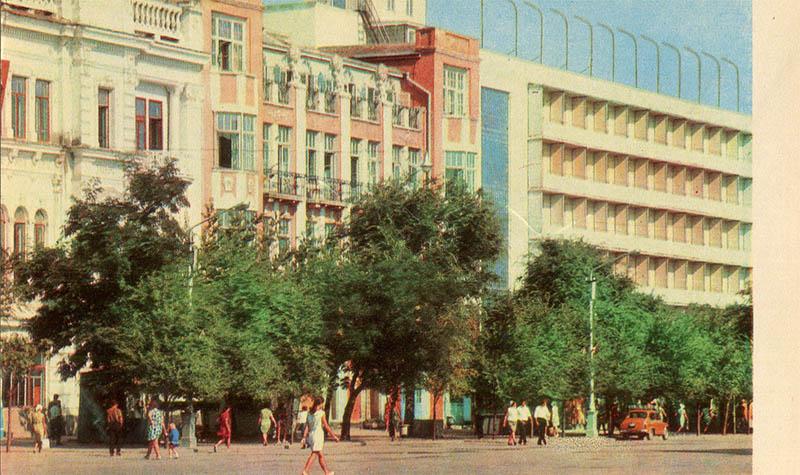 "Гостиница ""Астория"", Феодосия, 1975"