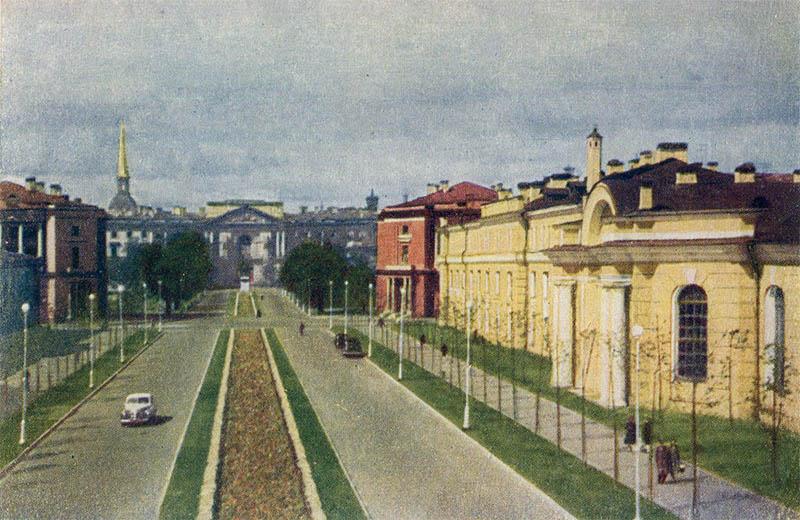 Maple Street, Leningrad, 1951