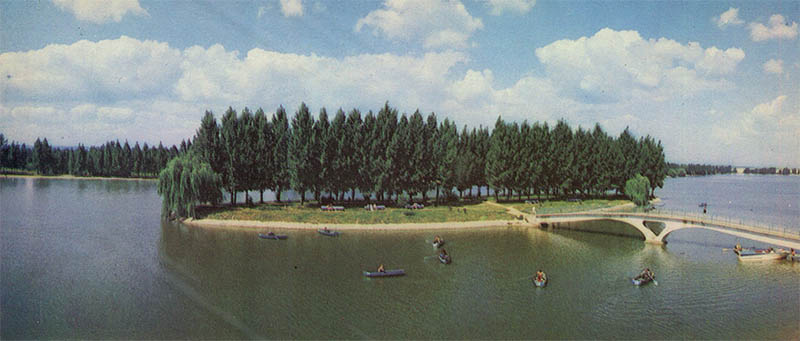 Urban Lake Ivano-Frankivsk, 1987