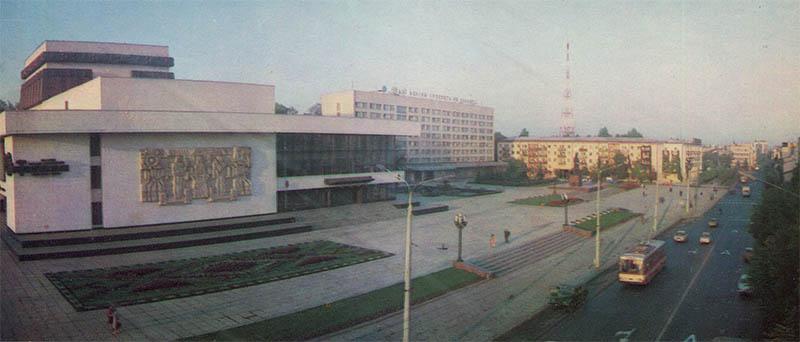 Music and dramatic theater. I.Ya.Franko Ivano-Frankivsk, 1987