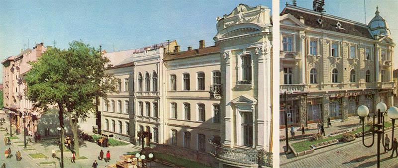 On the street of Soviet Ivano-Frankivsk, 1987