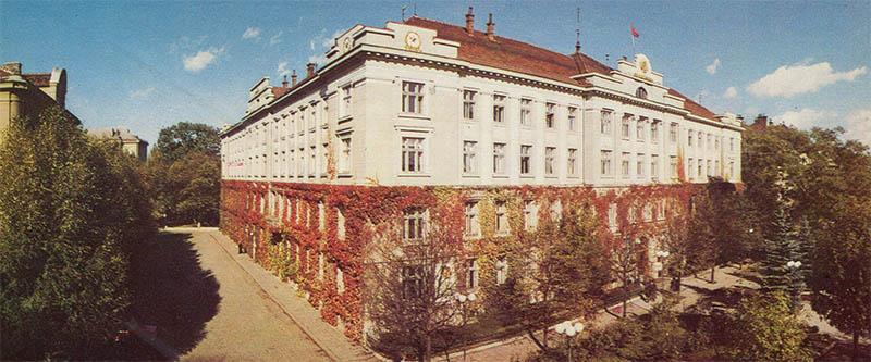 Административное здание Ивано-Франковск, 1987