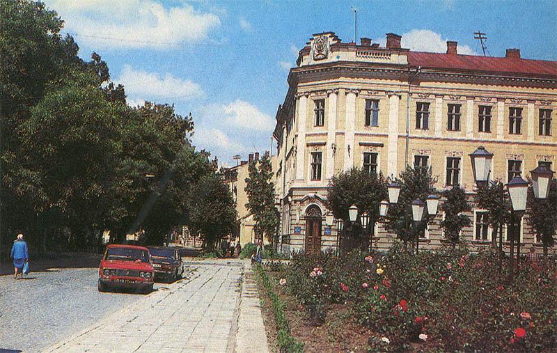 Adventure building, Ivano-Frankivsk, 1987