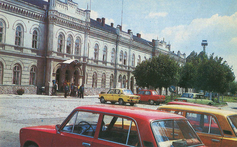 Kolomyya Railway Station, 1987