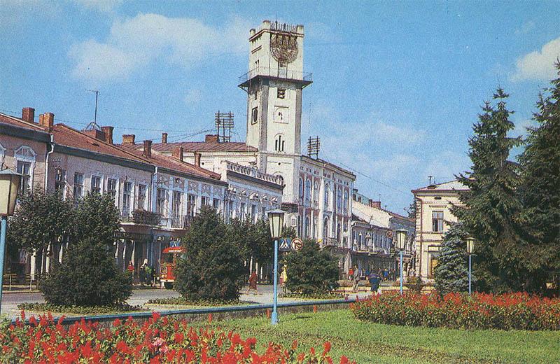 Medical silver building – Former Tallest Kolomyya, 1987