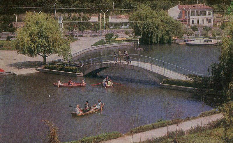 В центре города Дилижан, 1976