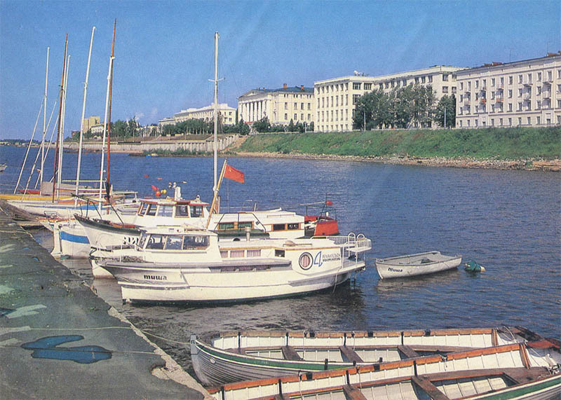 Яхт-клуб Архангельск, 1989